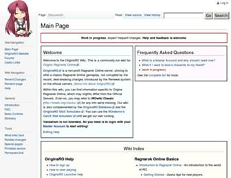 wiki.originsro.org screenshot