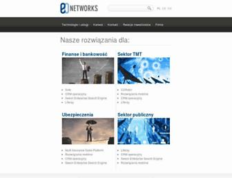 Main page screenshot of eo.pl