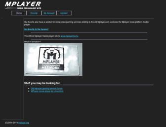 Main page screenshot of livve.org