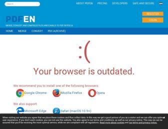 pdfen.com screenshot
