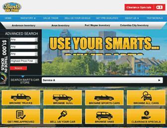 bartscarstore.com screenshot
