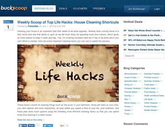 Thumbshot of Buckscoop.com.au
