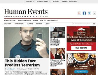 Thumbshot of Humanevents.com