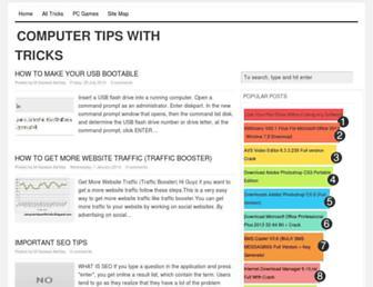 computertipswithtricks.blogspot.com screenshot