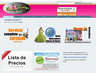 elviasboutique.com screenshot