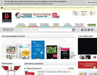 Thumbshot of Dunod.com