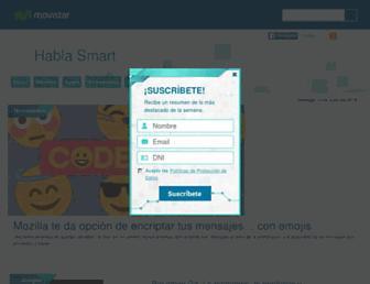 hablasmart.movistar.com.pe screenshot
