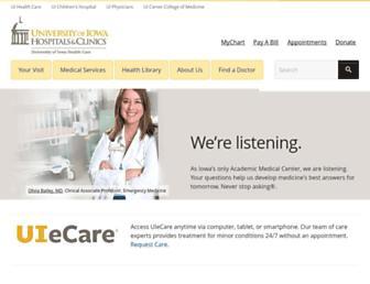 uihc.org screenshot