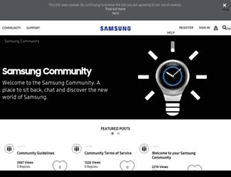 eu.community.samsung.com screenshot