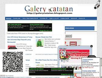 galerycatatan.blogspot.com screenshot