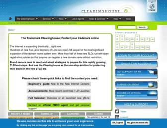 Thumbshot of Trademark-clearinghouse.com