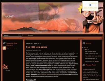 mobilegame7.blogspot.com screenshot