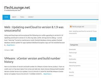 itechlounge.net screenshot