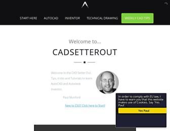 cadsetterout.com screenshot