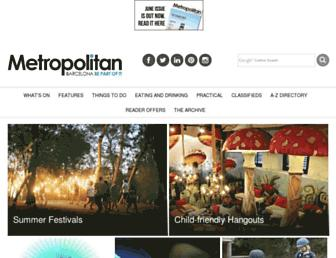 barcelona-metropolitan.com screenshot