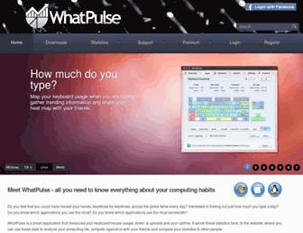 Thumbshot of Whatpulse.org