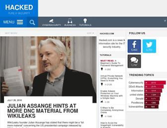 hacked.com screenshot