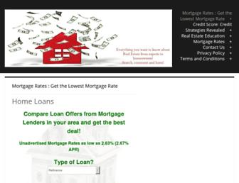 Thumbshot of Getalowmortgagerate.com