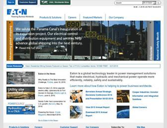 eaton.com screenshot