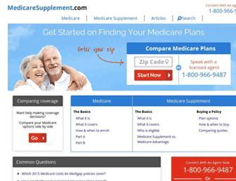 medicaresupplement.com screenshot