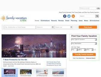 Thumbshot of Familyvacationcritic.com