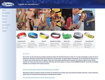 Main page screenshot of bratari.ro