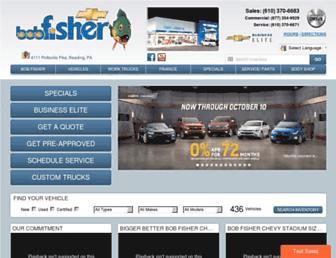 bobfisherchev.com screenshot