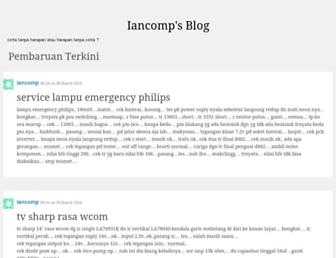iancomp.wordpress.com screenshot