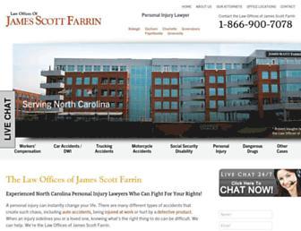 farrin.com screenshot