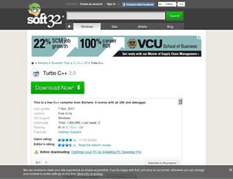 turbo-c.soft32.com screenshot