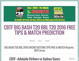cbtf-tips.com screenshot