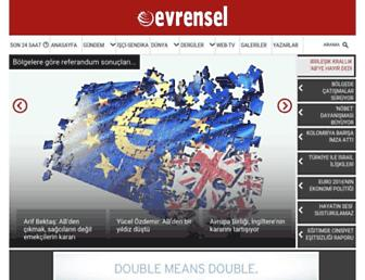 evrensel.net screenshot