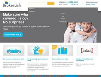 brokerlink.ca screenshot