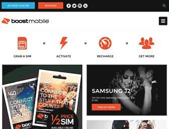 Thumbshot of Boost.com.au
