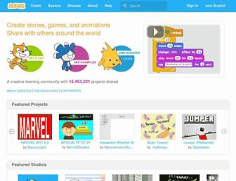 scratch.mit.edu screenshot