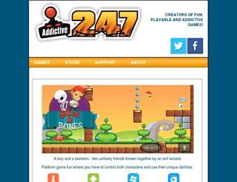 addictive247.co.uk screenshot