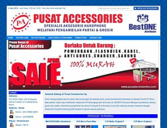 pusataccessories.com screenshot