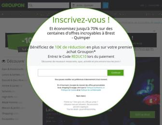 Thumbshot of Groupon.fr