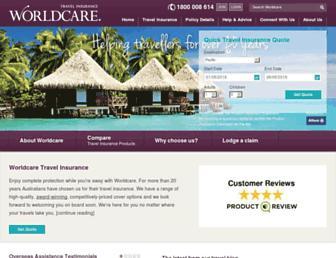 worldcare.com.au screenshot