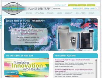 planetorbitrap.com screenshot