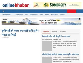 Thumbshot of Onlinekhabar.com