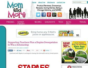 Thumbshot of Momandmore.com