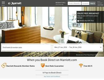 marriott.co.uk screenshot