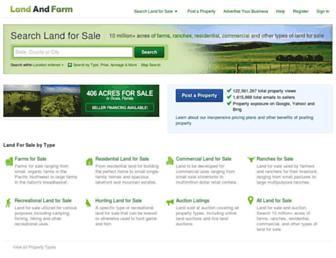 Thumbshot of Landandfarm.com