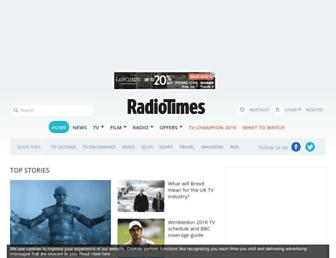 Thumbshot of Radiotimes.com