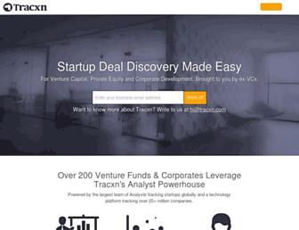 tracxn.com screenshot