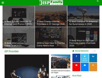 ispfamily.com screenshot