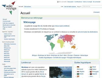 fr.wikivoyage.org screenshot