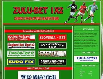 zulu-bet1x2.com screenshot