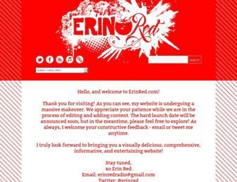 erinred.com screenshot